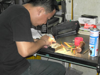 plastic injection tool making